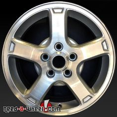 "2003-2005 Chevy Car OEM wheels for sale. 16"" Machined stock rims 5164 http://www.need-a-wheel.com/rim-shop/16-chevy-car-oem-wheels-machined-rims-5164/ , #oemwheels, #factorywheels"
