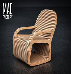 Стул-качалка с местом для домашнего питомца. Размеры-600х700х990 мм. Фанера 12 мм. #madfactory #madfactorydesign #madfactorykzn #parametric #design #parametricdesign #wood #interior #kazan #казань #параметрика #параметрическийдизайн #дизайн #интерьер #дерево #фанера #3dsmax #rhinoceros #grasshopper #стул #мебель #furniture #pets