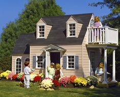 believe it or not ~ this is a playhouse for kids