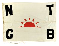 House flag, North Thames Gas Board - National Maritime Museum