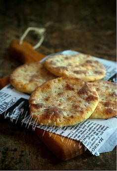 Perunarieska - Finnish potato flat bread.