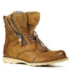 LOOP-BU Laces BUNKER boot for men.