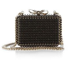 Christian Louboutin Spiked Bow Minaudiere