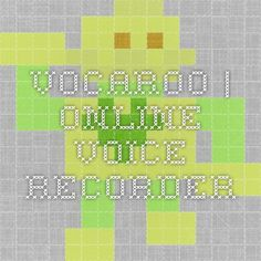 Vocaroo | Online voice recorder