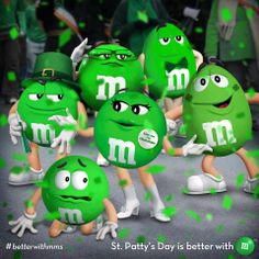 <3...M and M's - St. Patty's Day is better with M....