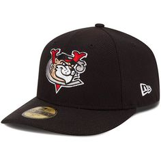 Tri-City ValleyCats New Era Low Crown Diamond Era 59FIFTY Fitted Hat - Black
