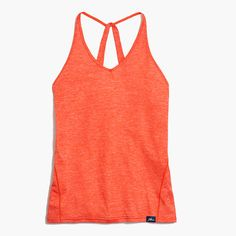 "We partnered with our friends at New Balance to bring you our first-ever collection of workout clothes—in techy fabrics and unique colors and prints. This easy tank top is made from moisture-wicking NB Dry fabric that absorbs sweat (so you can also wear it around after class without having to worry). <ul><li>Slightly loose fit.</li><li>Body length: 26"".</li><li>Poly.</li><li>Machine wash.</li><li>Import.</li><li>Select stores.</li></ul>"