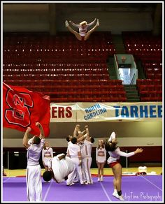 now THAT is a basket toss