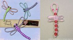 Free D.I.Y - Beaded Dragonfly Featured on Bead-Patterns.com Newsletter