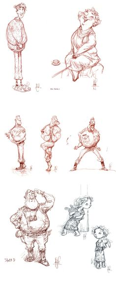 Arthurs Christmas ✤ || CHARACTER DESIGN REFERENCES | キャラクターデザイン • Find more at https://www.facebook.com/CharacterDesignReferences if you're looking for: #lineart #art #character #design #illustration #expressions #best #animation #drawing #archive #library #reference #anatomy #traditional #sketch #development #artist #pose #settei #gestures #how #to #tutorial #comics #conceptart #modelsheet #cartoon || ✤