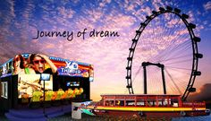 S$39.00 - New Year Special: World Largest Observation Wheel Singapore Flyer   Journey of Dream   River Cruise   6D XD Motion Theatre Experience   Singapore Food Trail Voucher (Worth $70). | www.Coupark.com - All Best Discount Deals in Singapore