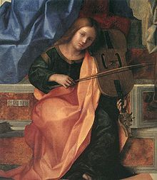 Detail of the San Zaccaria Altarpiece, by Giovanni Bellini, 1505