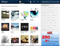 8Tracks: A Great Way to Create and Discover Creative Playlists