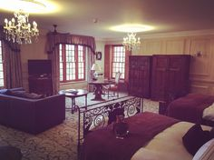 Family suite at Lainston house