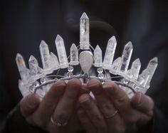crystal diadem
