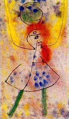 Paul Klee Mit Grunen Stumpfen 1939