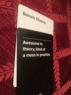 """The time it said what many people were too scared to. 