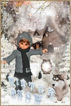 Зимний снег - анимация на телефон №1365043