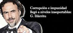 'La impunidad es la sangre vital de la corrupción, porque si hubiese justicia los primeros que irían a la cárcel son los que cometen esos delitos y que son los de arriba', aseveró en entrevista con Carmen Aristegui.