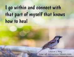 Louise Hay Affirmations - Health, Healing & Weight Loss