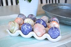 WOW! How to Dye Easter Eggs with Old Ties