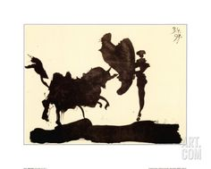 Toros y Toreros Art Print by Pablo Picasso at Art.com