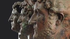 The three bronze busts of Emperor Hadrian specvlvm specvlorvm