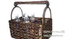 Water hyacinth basket Video. Home24h - Handicrafts Manufacture and Exporter in Vietnam