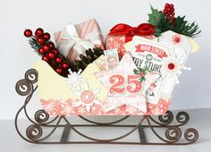 Countdown To Christmas: Santa's Sleigh — Pink Paislee