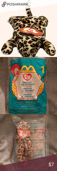McDonald s + TY    beanie baby     1 freckles McDonald s + TY Beanie facf9b7da9da
