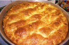Τυρόπιτα με γιαούρτι Greek Easy Cheese Pie with yoghurt. Yogurt Recipes, Greek Recipes, Dessert Recipes, Greek Cooking, Cooking Time, Cooking Recipes, Cheese Pies, Easy Cheese, Greek Pita