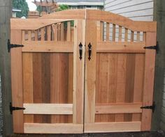 Delightful Cedar Fence Gate Plans