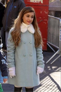 Ariana Grande at the thanksgiving day parade