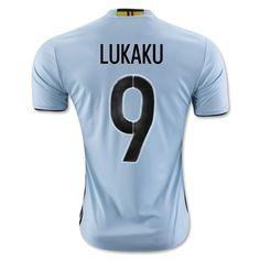 Cheap soccer jersey from topjersey 2016 European Cup Belgium LUKAKU Away  Blue Thailand Soccer Jersey-Belgium 274ba62bc