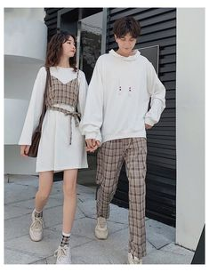 Couples Assortis, Matching Couple Outfits, Matching Couples, Mode Kpop, Mode Chic, Fashion Couple, Korean Outfits, Cute Casual Outfits, Aesthetic Clothes