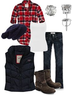 """farm girl"" by johnny-samantha-vaught on Polyvore.. Maybe slightly different boots for me, but really like this overall!"