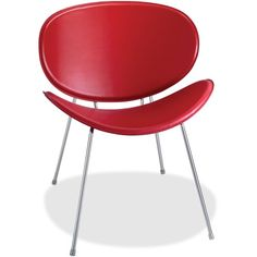 This Side chair makes a statement. http://www.shoplet.com/Safco-Sy-3563-Guest-Chair/SAF3563RD/spdv