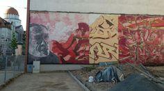 Grafitti an der Karl-Liebknecht-Straße, Leipzig - Foto: S. Hopp