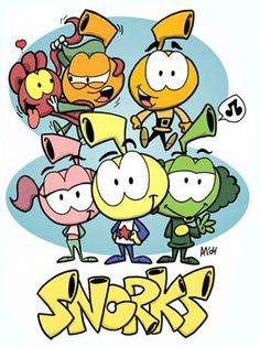 Snorks! i almost forgot about these!