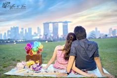 Pocket: Dennis & Tricia – Pre-Wedding Photoshoot in Singapore by Coffee And Tea