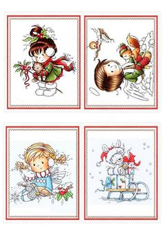 The video consists of 23 Christmas craft ideas. Christmas Labels, Christmas Clipart, Christmas Tag, Christmas Printables, Christmas Pictures, Vintage Christmas, Christmas Crafts, Clipart Noel, Christmas Topper
