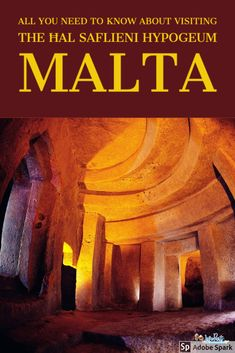 Be sure to visit the Neolithic burial chamber in Malta. Once of the world's oldest sites - even older than the Pyramids. For information on how to visit this site, read this post now.  #Hypogeum #Malta #Thingstodoinmalta Malta Travel Guide, Europe Travel Guide, Travel Guides, Travelling Europe, Spain Travel, Travel Advice, European Travel Tips, European Vacation, European Destination