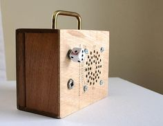 Your place to buy and sell all things handmade Cigar Box Projects, Good Cigars, Cigar Box Guitar, Portable Battery, Retro Futuristic, Men Stuff, Amp, Music, Repurposed