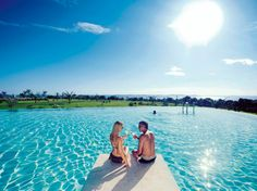 Amazing Pools at the Best New Hotels : Falkensteiner Hotel and Spa Iadera, Zadar, Croatia Honeymoon Vacations, Vacation Trips, Dream Vacations, Hotels And Resorts, Best Hotels, Portugal, Spa Hotel, Romantic Honeymoon, Romantic Destinations