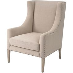 Retrotelo Upholstered Chair ($1,475) ❤ liked on Polyvore