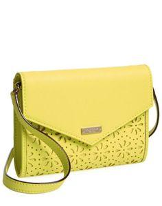 love this bright #yellow kate spade crossbody bag http://rstyle.me/n/mjk3dr9te