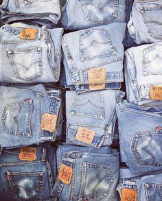 Denim As Unique As You Are. : Photo
