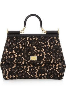 Dolce & Gabbana. This would be a nice addition to Moms great collection of beautiful little Handbags
