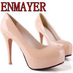 Aliexpress.com : Buy Free shipping 2013 Newest design platform sexy ultra high heels pump shoes open toe high heeled shoes red sole dress shoes  from Reliable shoes suppliers on ENMAYER $33.59