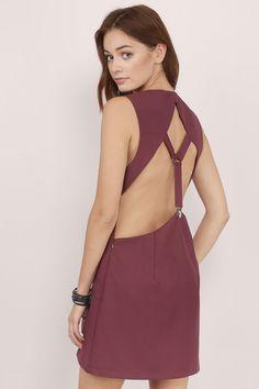 Suit Up Shift Dress at Tobi.com  | #SHOPTobi | #ShiftySirens | Shift Dresses